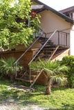 Escalera y entrada Fotografía de archivo libre de regalías