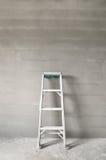 Escalera y muro de cemento Fotos de archivo