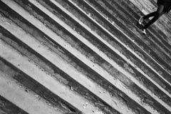 Escaleras. fotos de archivo