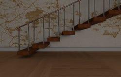 Escaleras Ilustración del Vector