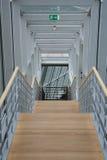 Escaleras abajo Fotografía de archivo libre de regalías