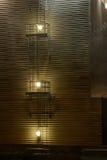Escaleras abstractas de la torre Fotos de archivo