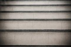 Escaleras abstractas en blanco y negro Imágenes de archivo libres de regalías