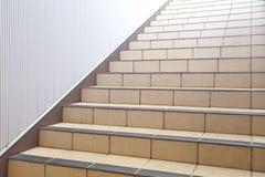 Escaleras abstractas en interior Imagen de archivo libre de regalías
