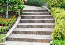 Escaleras al aire libre Imagenes de archivo