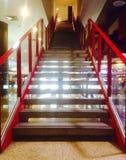 Escaleras al cine Foto de archivo