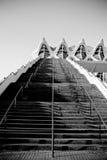Escaleras al desconocido Fotografía de archivo libre de regalías