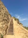 Escaleras al Heven Foto de archivo libre de regalías