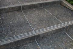 Escaleras al jardín Foto de archivo