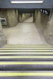 Escaleras al metro de Lisboa Foto de archivo libre de regalías