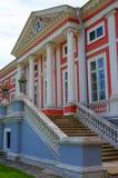 Escaleras al palacio (estado de Kuskovo cerca de Moscú) Imagenes de archivo