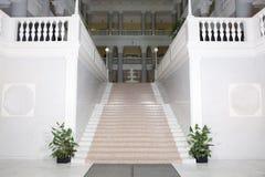 Escaleras al pasillo Fotografía de archivo