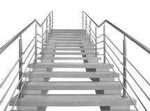 Escaleras al vacío Foto de archivo
