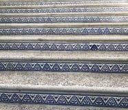 Escaleras artísticas Imagen de archivo libre de regalías