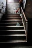 Escaleras ascendentes Foto de archivo