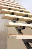 Escaleras bajo construcción Imagenes de archivo