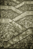 Escaleras Bratislava del castillo fotos de archivo libres de regalías