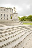 Escaleras clásicas de piedra grandes Fotografía de archivo libre de regalías