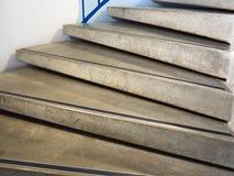 Escaleras clásicas modernas del estilo del minimalismo Fotografía de archivo libre de regalías