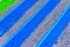 Escaleras coloridas Imagenes de archivo