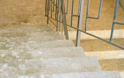 Escaleras concretas Imagen de archivo