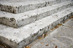 Escaleras concretas Imagenes de archivo