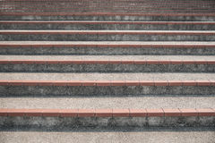 Escaleras concretas Foto de archivo libre de regalías