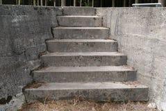 Escaleras concretas Fotografía de archivo libre de regalías