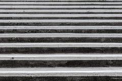 Escaleras concretas abstractas Fotografía de archivo