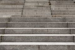 Escaleras concretas modernas abstractas Imagen de archivo
