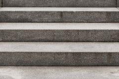 Escaleras concretas modernas abstractas Fotos de archivo libres de regalías