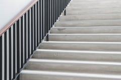 Escaleras concretas modernas abstractas Fotografía de archivo libre de regalías