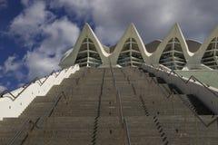 Escaleras contra el cielo Foto de archivo libre de regalías