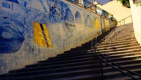Escaleras de Azulejo imagen de archivo