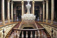 Escaleras de Dolmabahce Fotografía de archivo libre de regalías