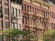 Escaleras de incendios Imagenes de archivo