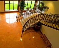 Escaleras de interior Fotos de archivo libres de regalías