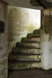 Escaleras de la arcón Imagen de archivo libre de regalías