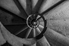 Escaleras de la bobina Foto de archivo libre de regalías