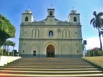 Escaleras de la catedral a la conexión espiritual Imagenes de archivo