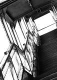 Escaleras de la ciudad Fotos de archivo libres de regalías