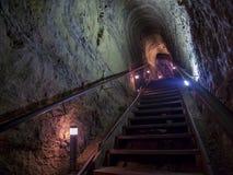 Escaleras de la ensenada famosa de La Jolla imagen de archivo libre de regalías