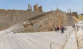 Escaleras de la entrada de Persepolis Fotos de archivo libres de regalías