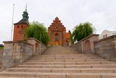 Escaleras de la iglesia Imágenes de archivo libres de regalías