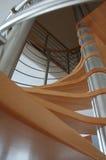 Escaleras de la madera Foto de archivo