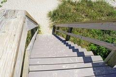 Escaleras de la playa Fotografía de archivo