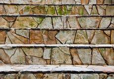 Escaleras de la roca Fotografía de archivo libre de regalías