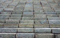 Escaleras de la roca Imagen de archivo libre de regalías