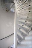 Escaleras de la torre del faro Imagenes de archivo