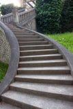 Escaleras de la vendimia de la piedra Imagen de archivo libre de regalías